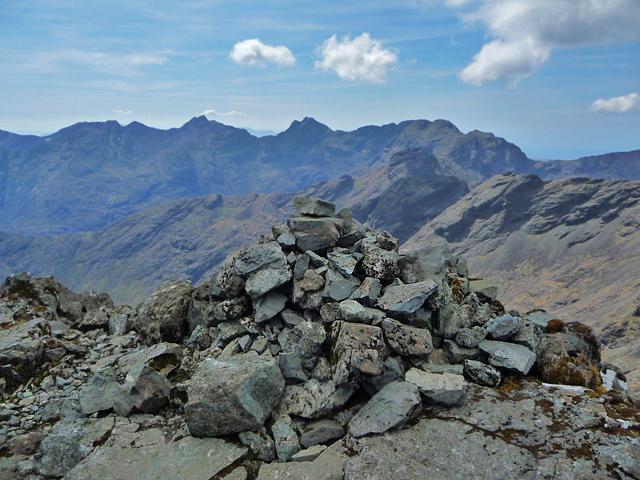 Summit cairn - Sgùrr nan Gillean
