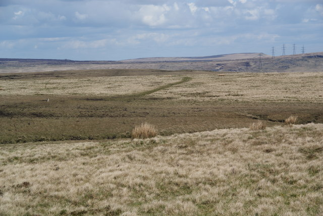 Moorland east of Crook Hill