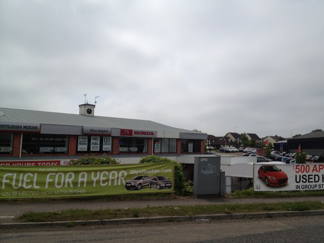 Glyn Hopkin car dealership, Colchester
