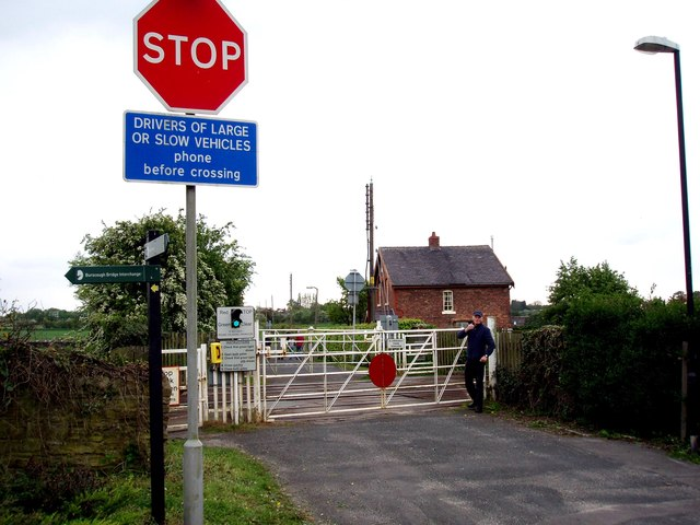 Level Crossing Crabtree Lane