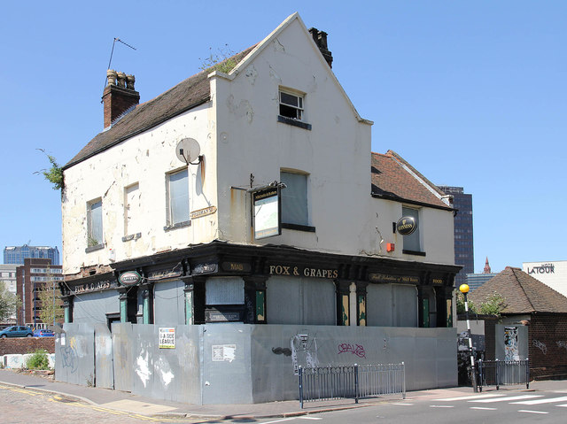Former Public House the Fox &amp; Grapes