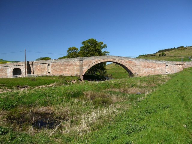 Weetwood Bridge, over River Till