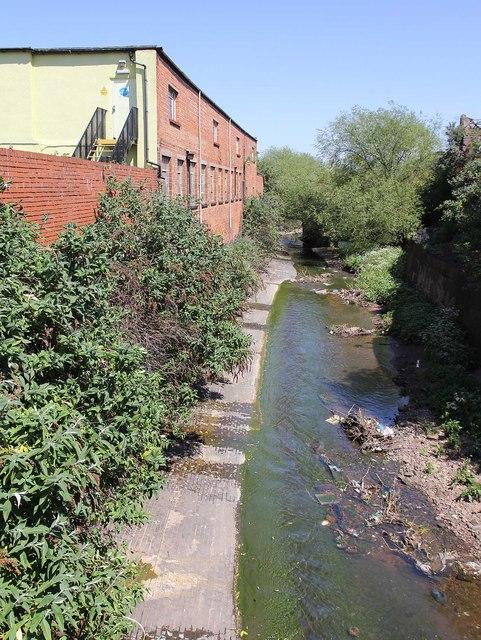 River Rea from Fazeley Street bridge