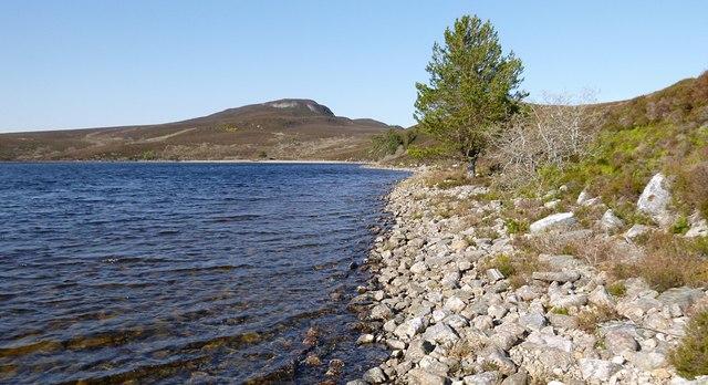 Shore of Loch Bruicheach