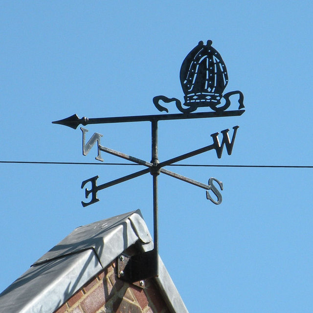 Weather vane, Clubbs Lane