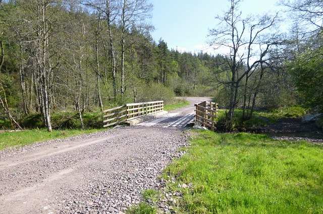 Bridge over the Bruiach Burn