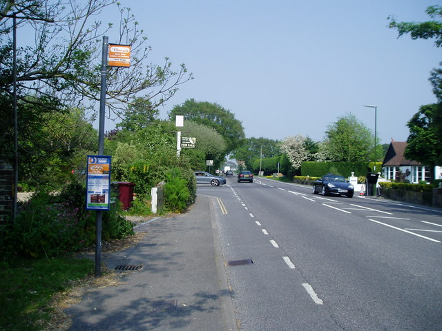 Bus stop in Main Road