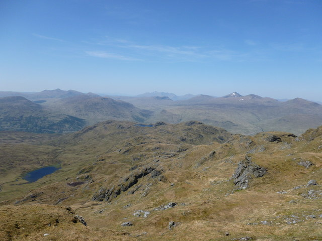 North-west ridge, Beinn Chabhair