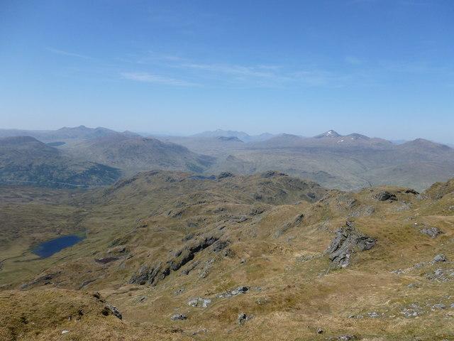 North-west ridge, Beinn Chabhair