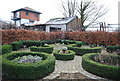 TQ3679 : Garden, Surrey Docks Farm by Nigel Chadwick