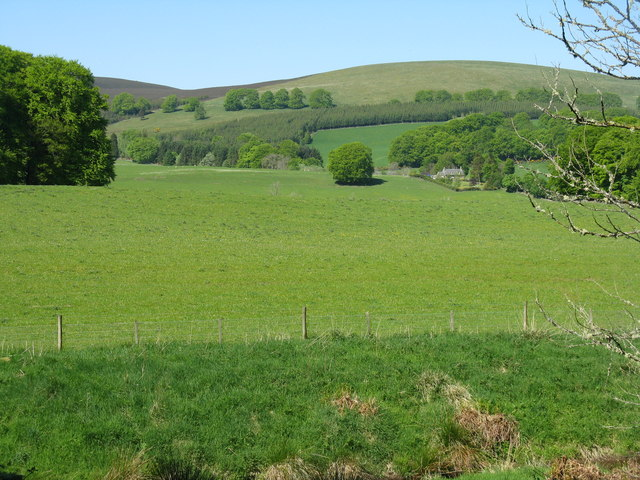 Farmland at Bamff