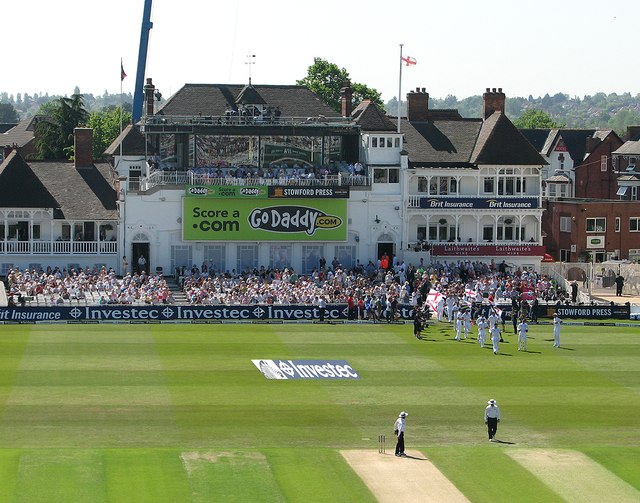 The start of the 2012 Trent Bridge Test Match