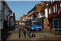 SU9643 : Stagecoach in Godalming, Surrey by Peter Trimming