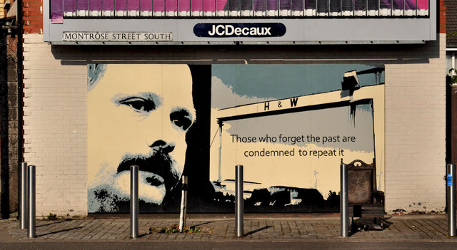David Ervine mural, Belfast