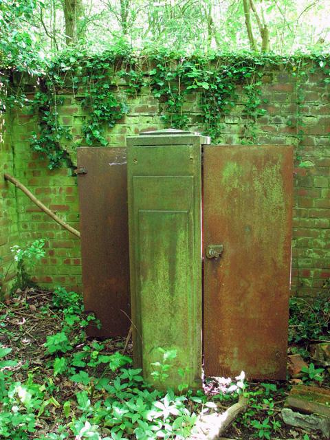 Rusty cupboard