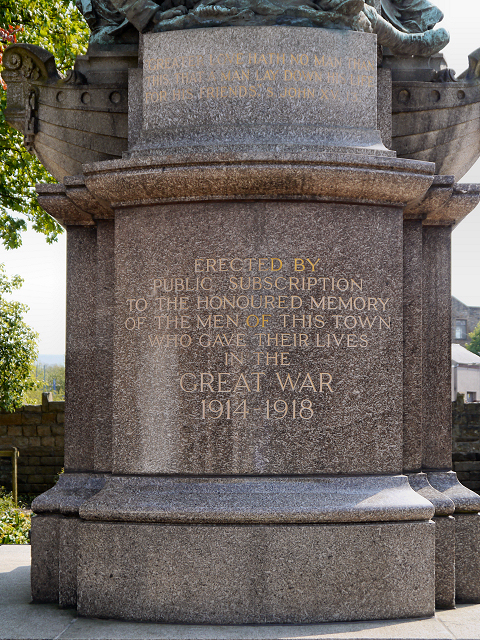 Oswaldtwistle War Memorial