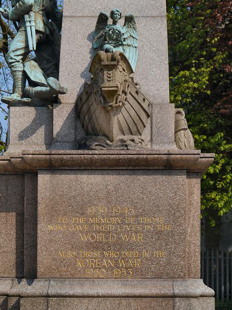Oswaldtwistle War Memorial, Second World War Dedication