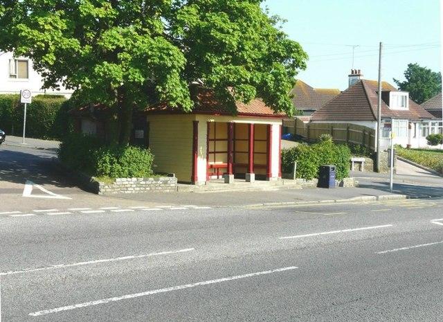 Wood Avenue bus shelter, Folkestone
