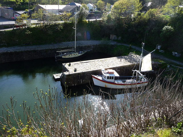 Charlestown Harbour inner basin