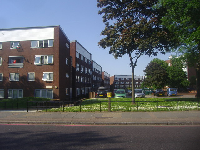Flats on Challice Way, Tulse Hill