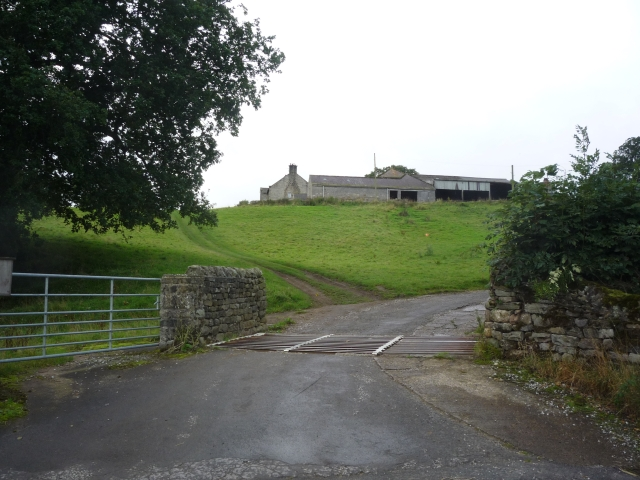 Entrance to Gouthwaite Farm