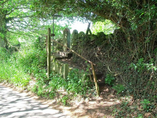 Stile on the Walk Around Oakamoor