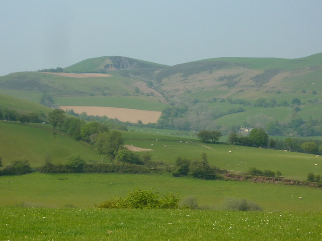 Grazing land and a view to the hills
