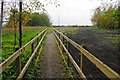SD7809 : Diverted path past Lower Spen Moor Farm by Bill Boaden