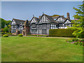 SJ4182 : Speke Hall, South Lawn by David Dixon
