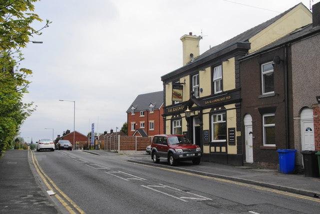 The Railway pub, Radcliffe