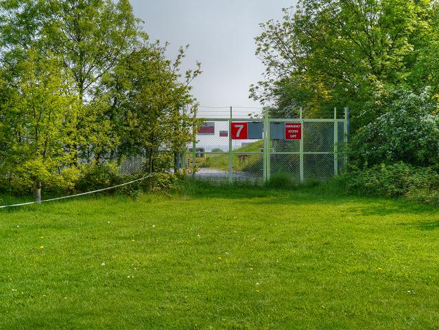 John Lennon Airport Emergency Access Gate 7