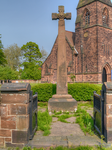 All Saints' War Memorial, Speke