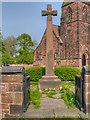 SJ4283 : All Saints' War Memorial, Speke by David Dixon
