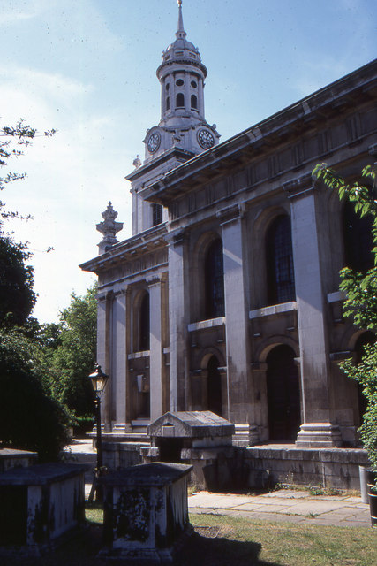 St Alfege's church, Greenwich