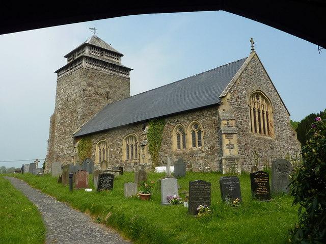 Church of St Beuno, Bettws Cedewain