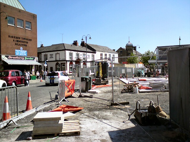Market Renewal Work on Clarendon Street