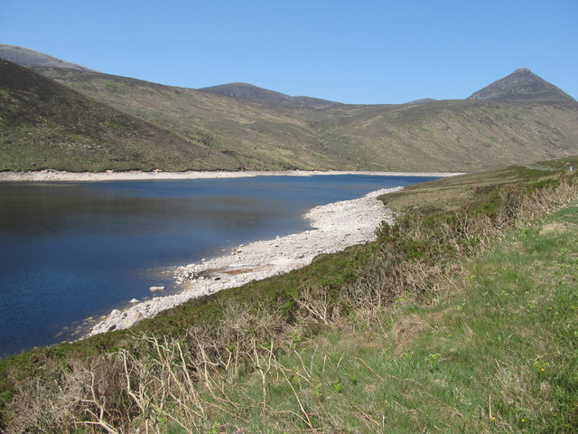 The northern section of the Silent Valley Reservoir