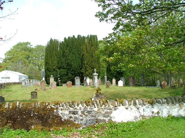 The old cemetery at Garve