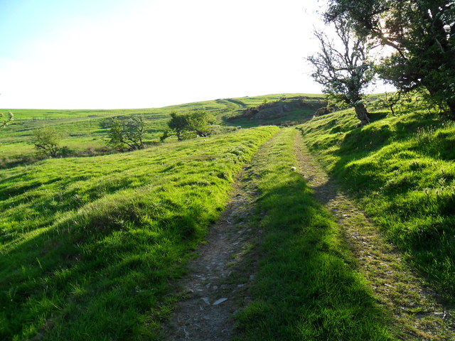 Where road becomes green lane