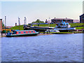 SJ4077 : Ellesmere Port Canal Basin by David Dixon