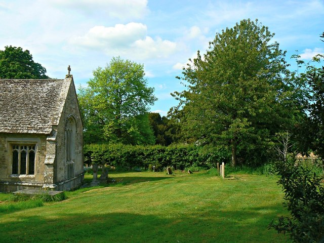 East churchyard, Church of St Mary, Calstone Wellington