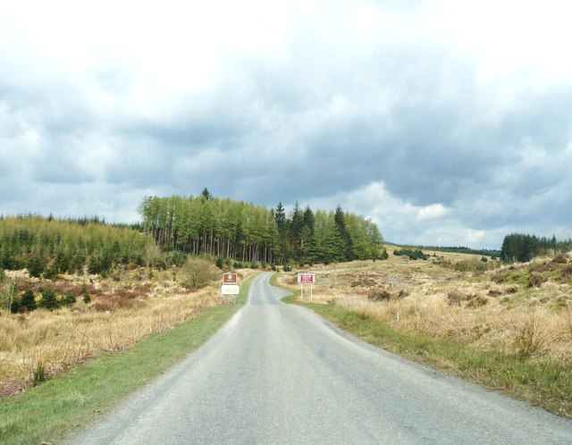 The Dumfries and Galloway / Ayrshire border