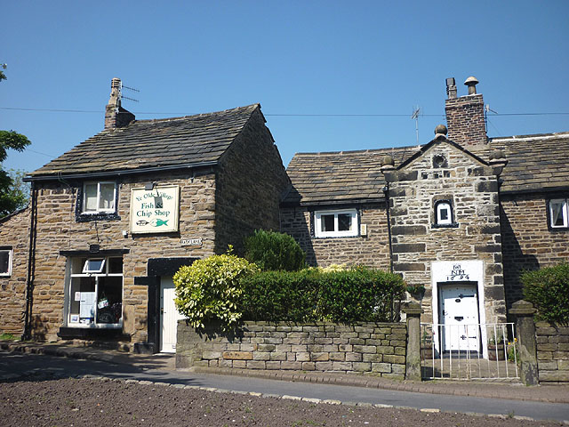 Ye Olde Village Fish and Chip Shop, Back Lane, Mottram