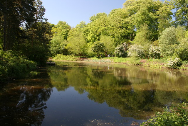 Mill pond at Quarry Bank Mill