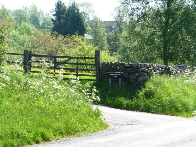 Entrance to Ipstones Park Farm