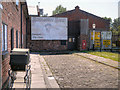 SJ4077 : Porter's Row, Ellesmere Port Boat Museum by David Dixon