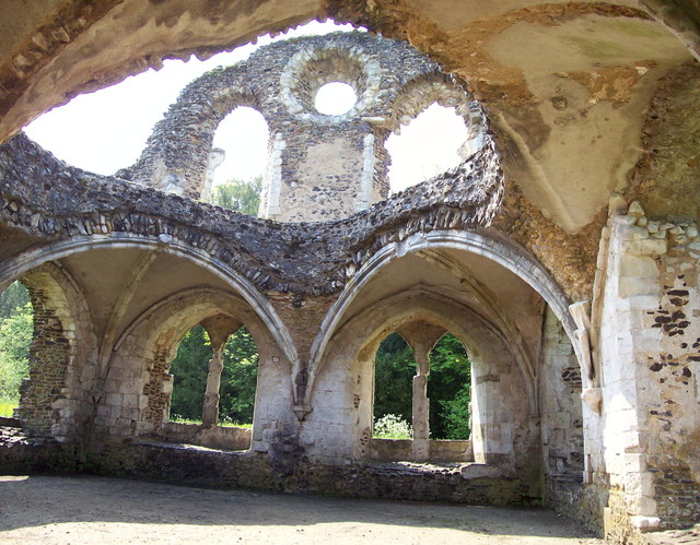 Lay Brothers refectory, Waverley Abbey