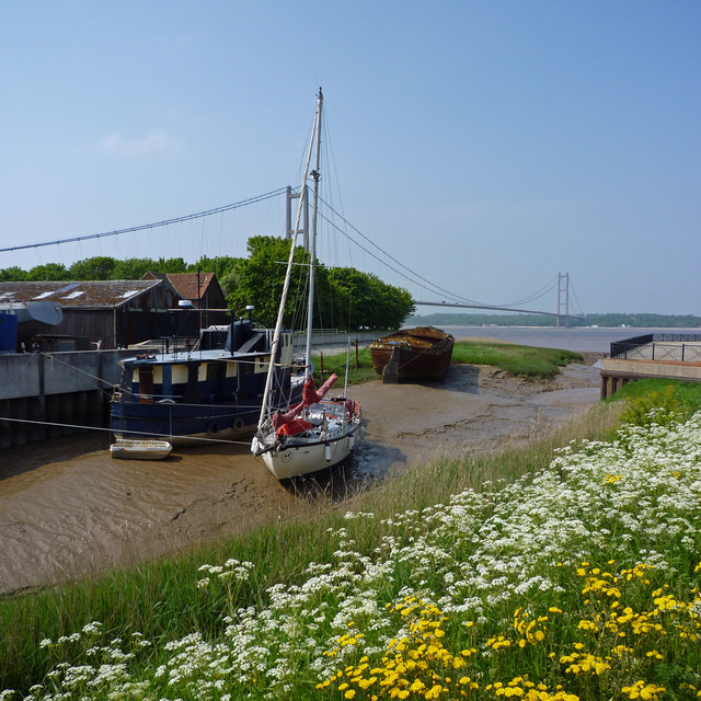 Barton Haven at Low Tide