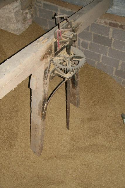 Frocester estate barn - water turbine drive shaft