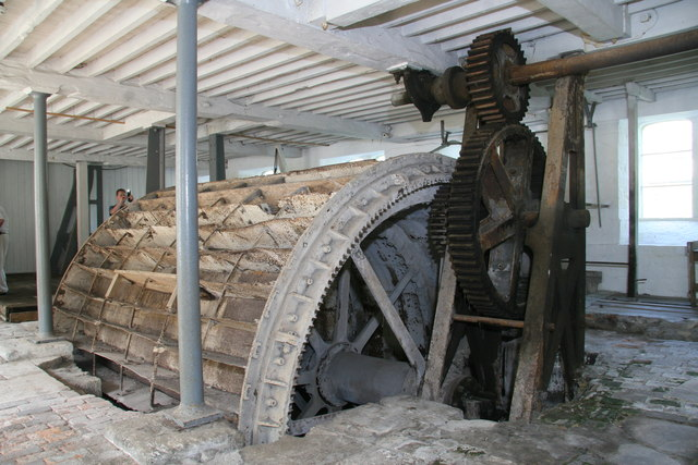 St Mary's Mill - waterwheel